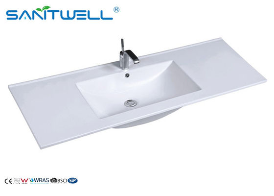 Single Single Bowl Ceramic Basin Single Basin AB8003-120 Single Hole